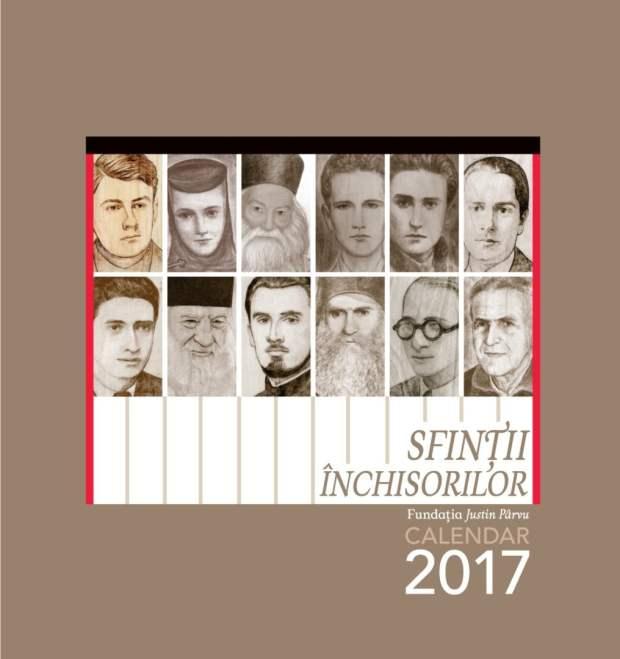 Calendar de perete 2017 Coperta Martirii temnitelor comuniste