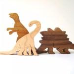 dinossauros de madeiras para brinquedoteca