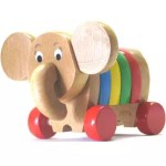 Elefantinho clássico em qualquer brinquedoteca