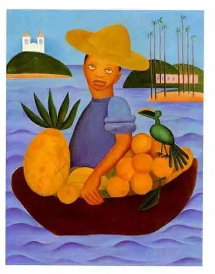 tarsila do amaral - o vendedor de frutas