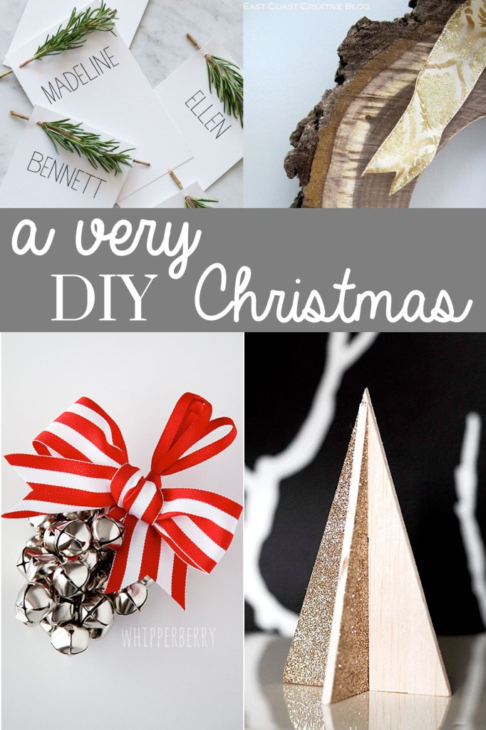 Have yourself a Very DIY Christmas with these 8 fun ideas for the holiday season! /// Round Up by Atkinson Drive