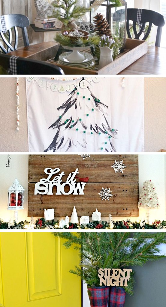 If you're looking for last-minute inspiration, or just something pretty to look at for the holidays, check out these beautiful Christmas decorations from the Pinworthy Projects link party!