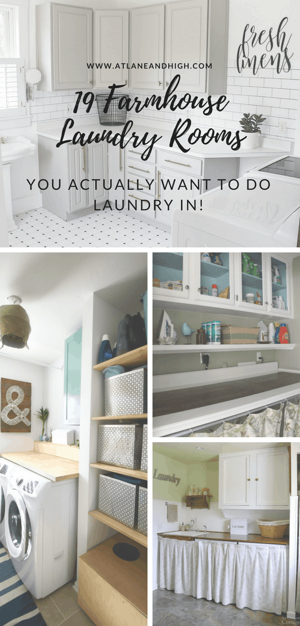 19 Amazing Laundry Rooms You Will Actually Want to do ... on Amazing Laundry Rooms  id=78677