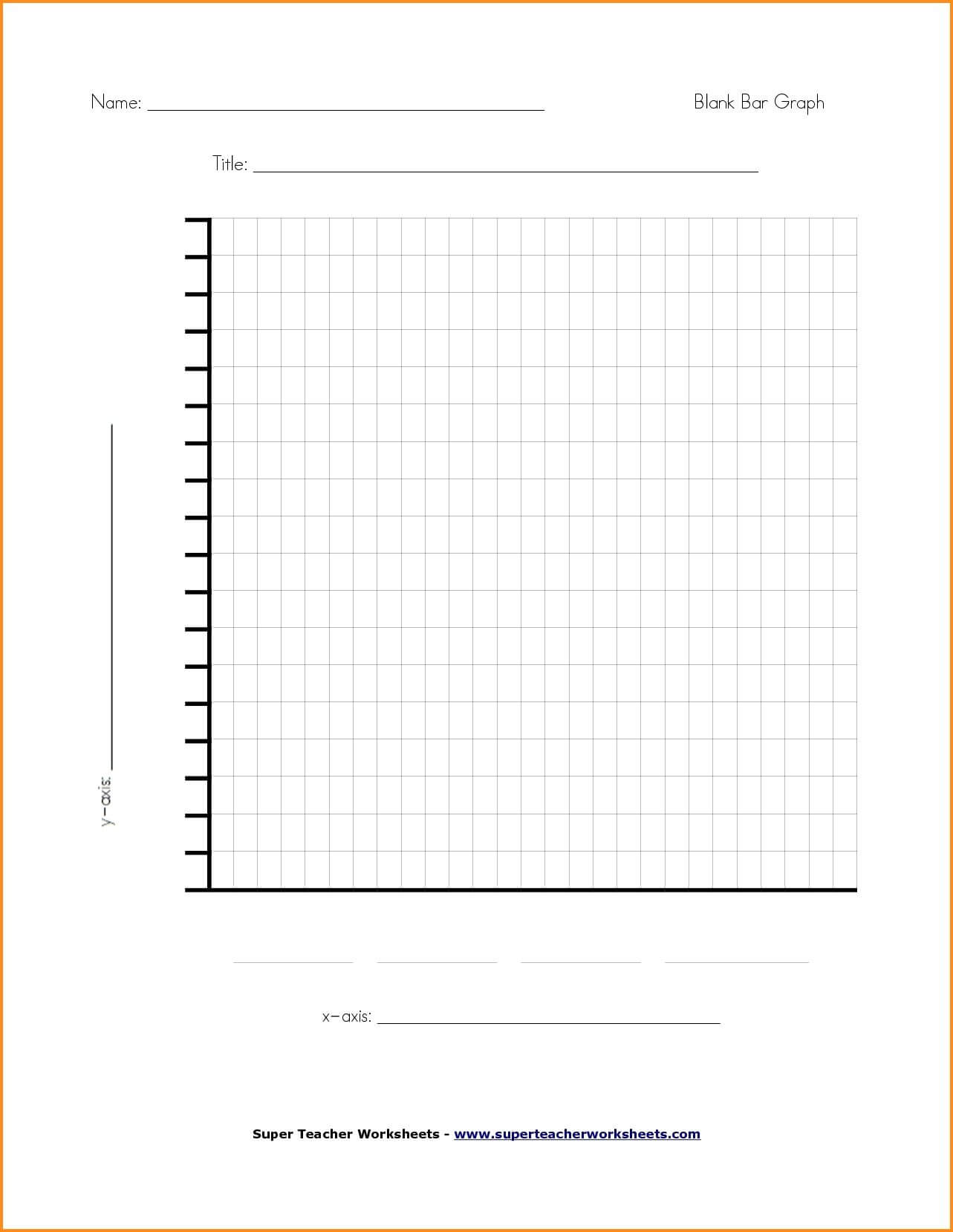 Blank Picture Graph Template