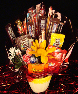 The Flowerpot Candy Bouquets Candy Flowers Candy Gifts In