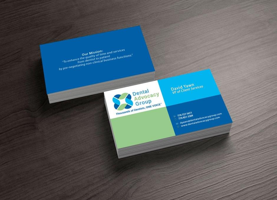 dental office business cards