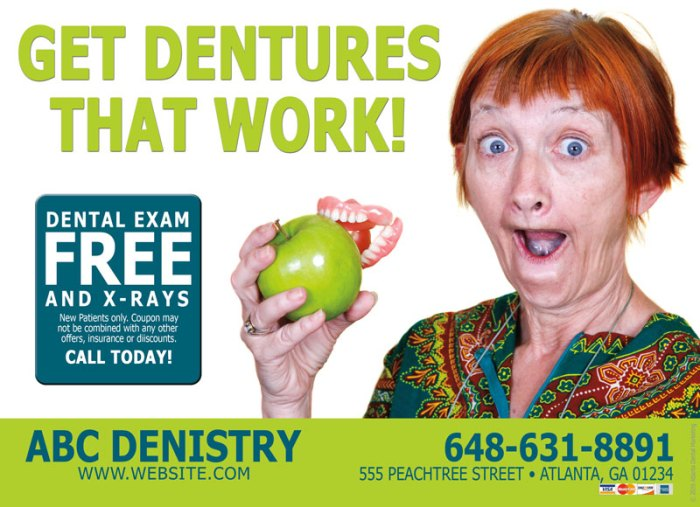 dentist marketing dentures