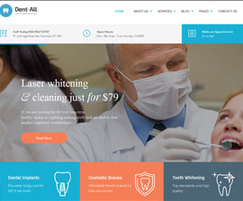 Website Development for Dental Practice