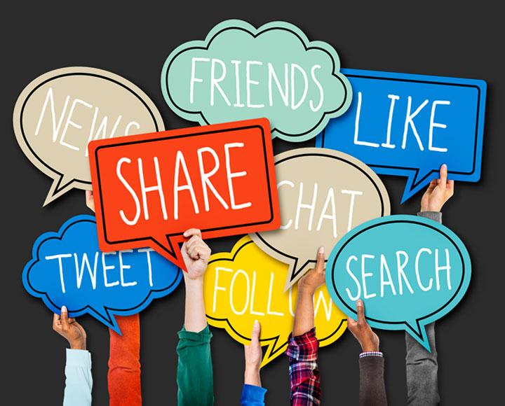 Social media signs for dentist