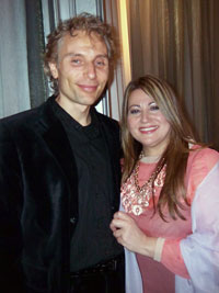 Grace Ormonde with Witold