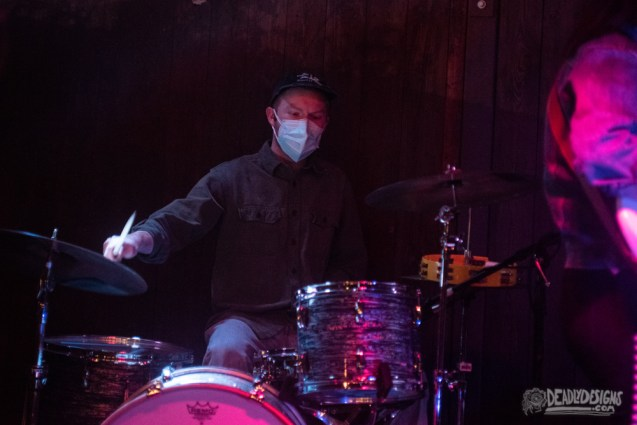 Jock Gang performing live at the Iron Factory on April 20, 2021, in Athens, Georgia.