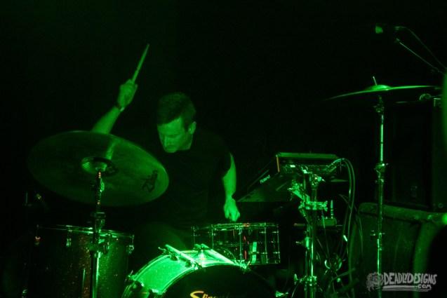 Vincas performing live at The Earl on July 15, 2021, in Atlanta, Georgia.