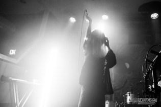 Korine performing live at Aisle 5 on August 29, 2021, in Atlanta, Georgia.