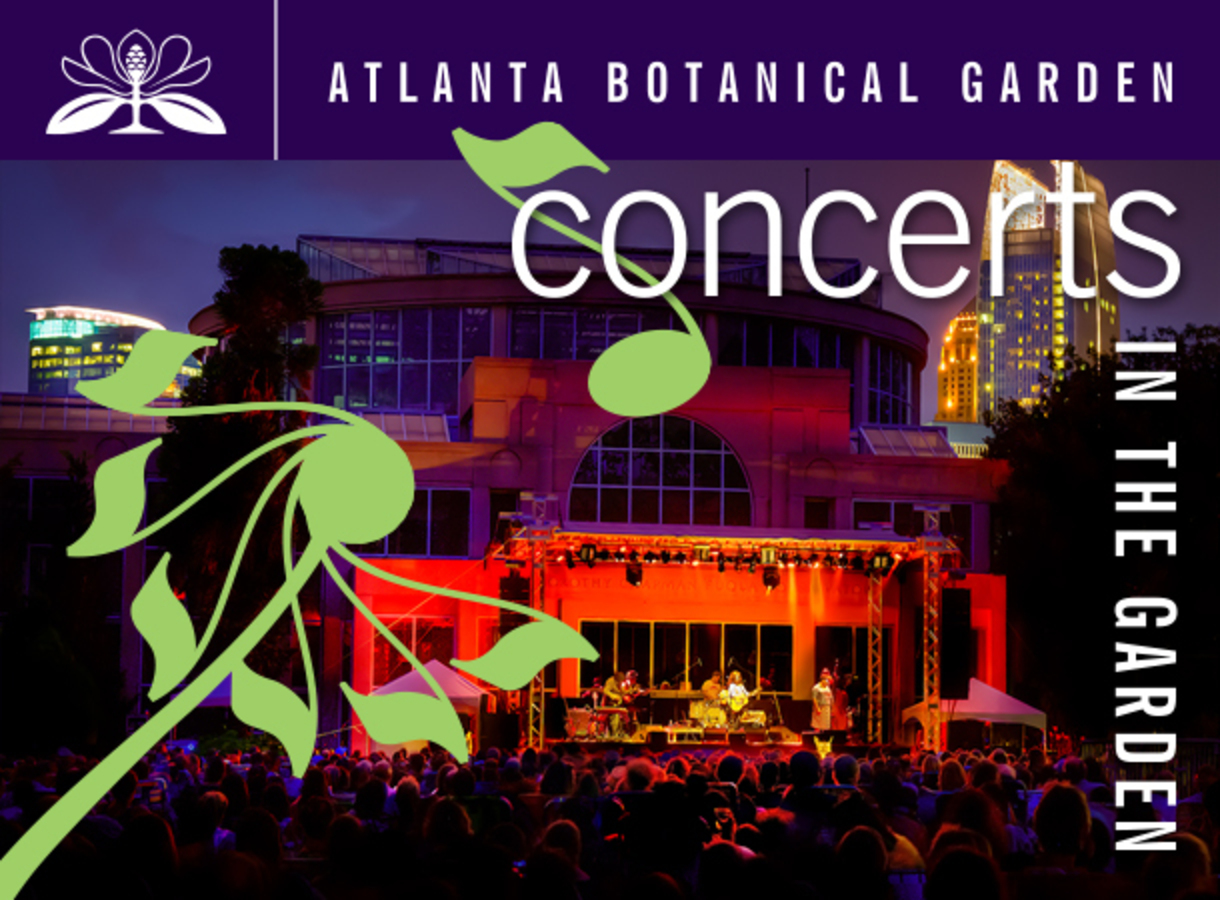 Atlanta botanical gardens concert series on sale now atlanta music guide for Botanical gardens concert series