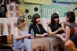 Photobook: Sleater-Kinney Record Signing @ Criminal Records 4/21/15