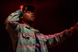 ATLANTA, GEORGIA - OCTOBER 12: DANNY BROWN performs during day 1 of AFROPUNK Music Festival at Atlanta 787 WINDSOR on October 12, 2019 in Atlanta, Georgia. Photo: Ryan Fleisher/imageSPACE