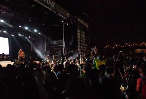 ATLANTA, GEORGIA - OCTOBER 13: Jason Aalon Butler of Fever 333 performs during day 2 of AFROPUNK Music Festival at Atlanta 787 WINDSOR on October 13, 2019 in Atlanta, Georgia. Photo: Ryan Fleisher/imageSPACE