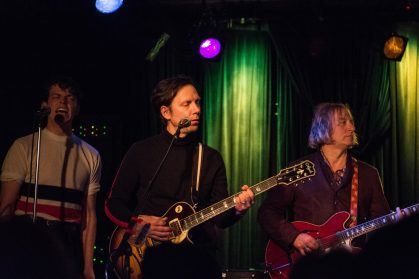 John Cameron Mitchell with Eyelids and Peter Buck