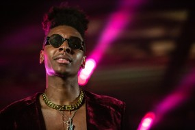 ATLANTA, GEORGIA - OCTOBER 13: Masego performs during day 2 of AFROPUNK Music Festival at Atlanta 787 WINDSOR on October 13, 2019 in Atlanta, Georgia. Photo: Ryan Fleisher/imageSPACE