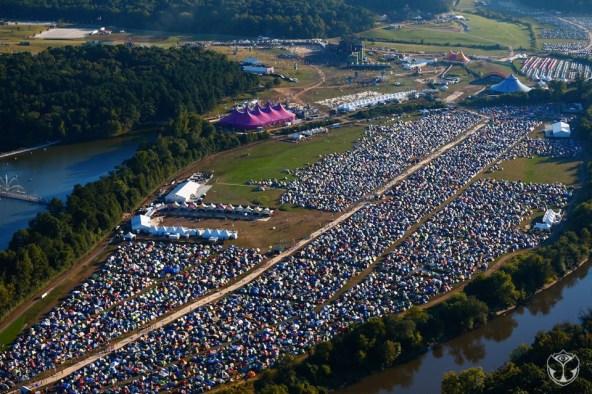 Aerial View of TomorrowWorld