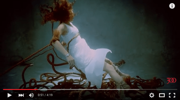 """A screenshot of the video for """"Lydia"""" by Highly Suspect, off the debut album, Mister Asylum."""