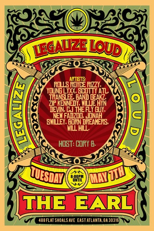 legalize loud
