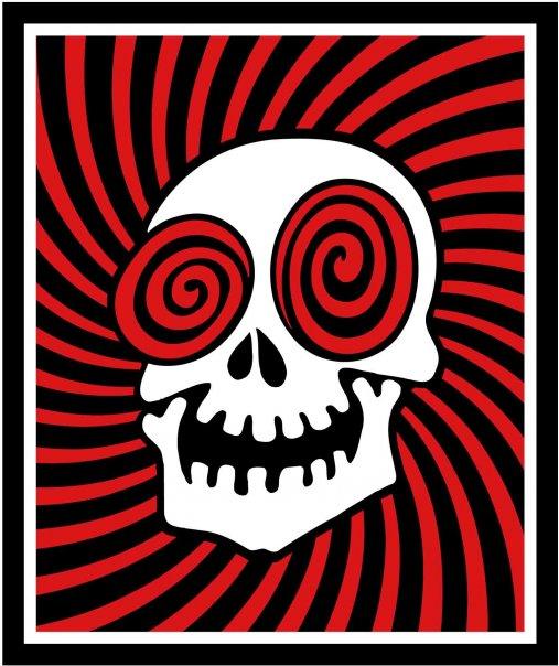 laughing skull logo