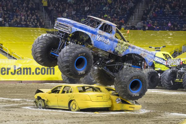 Discounts for Monster Jam Triple Threat at the Infinite