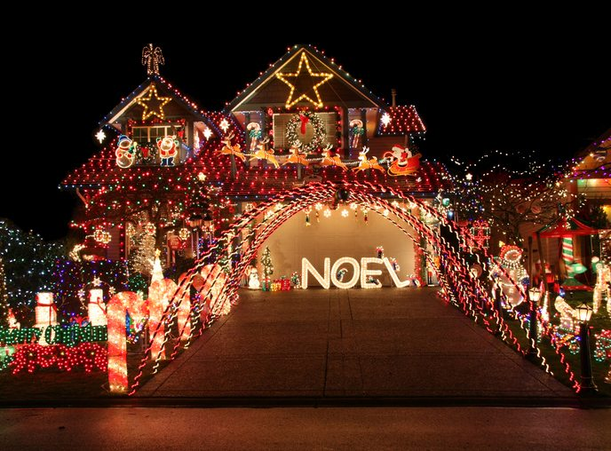 Neighborhood Light Displays