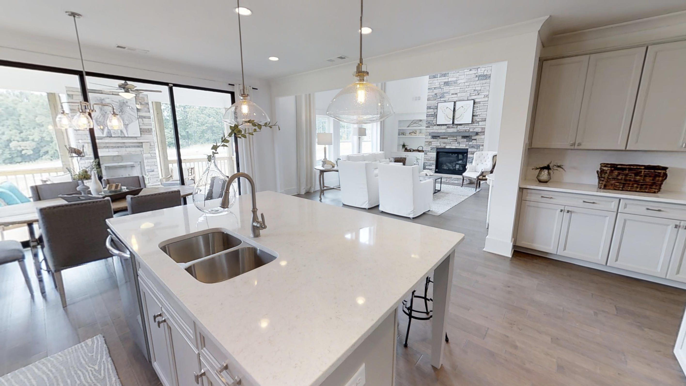 Chestnut Farms Model Home - Paran Homes - Kitchen 4 - May ... on Modern:ln_Sacsp1Ua= Kitchen Model  id=83052