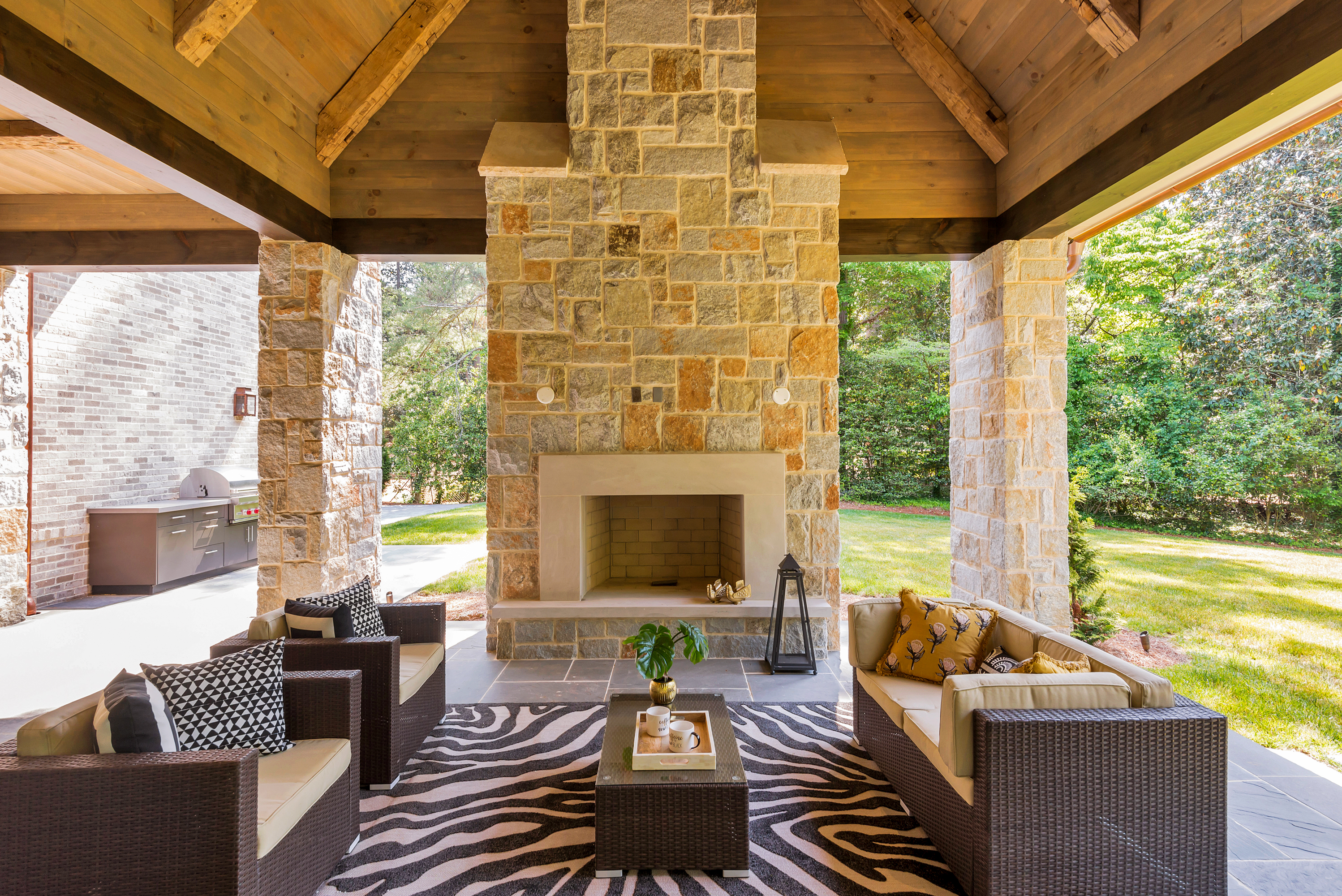 Outdoor Living Spaces Designed for Comfort | Design2Sell ... on Small Backyard Living Spaces  id=17001