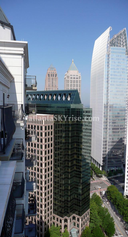 atlantaSKYrise.com photo of the day atlanta midtown skyline