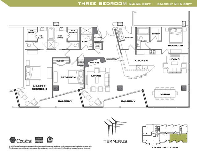 mexican restaurant kitchen layout. Terminus 3 Bedroom Floorplan Mexican Restaurant Kitchen Layout