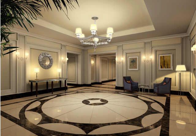 Mansion Hotel Lobby