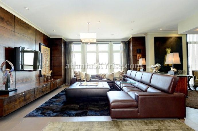 The Astoria Penthouse 1504 Living Room