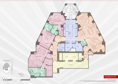 Mandarin Oriental 45B Floor Plan