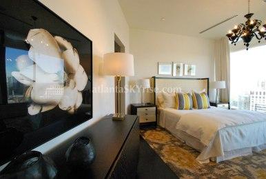 Mandarin Oriental 45B Master Bedroom