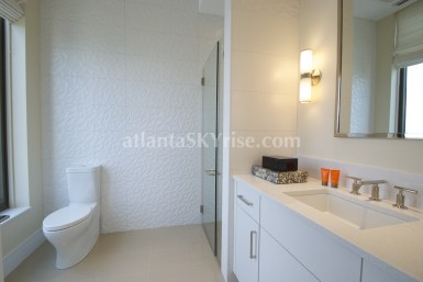 Mandarin Oriental Residences Atlanta 45A Guest Bathroom 2