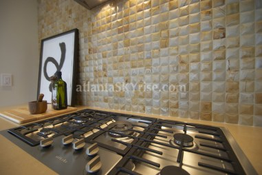 Mandarin Oriental Residences Atlanta 45A Kitchen Cooktop