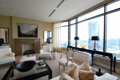 Mandarin Oriental Residences Atlanta 45A Living Room 4