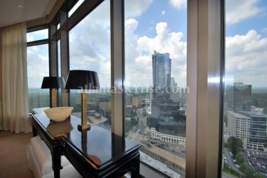 Mandarin Oriental Residences Atlanta 45A Living Room View