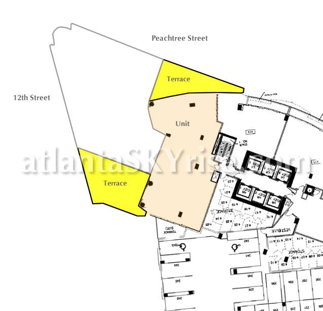 Rough Plan 1010 Midtown Penterra