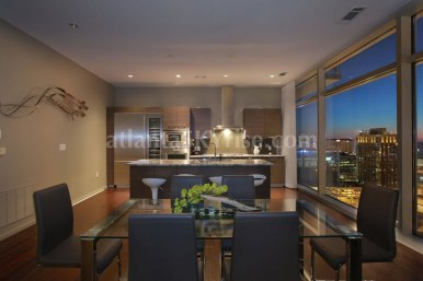 W Atlanta Residences 2304 Kitchen Dining
