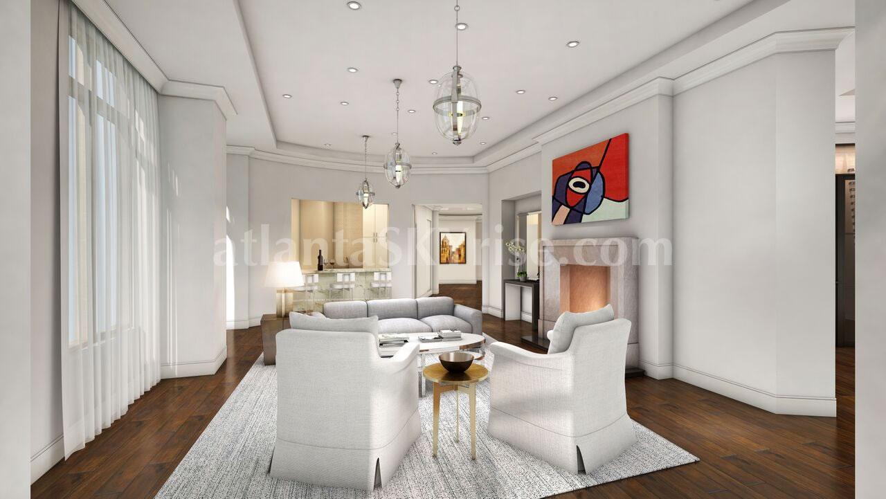 Mandarin Oriental Residences Atlanta Goes Full Throttle and Full ...