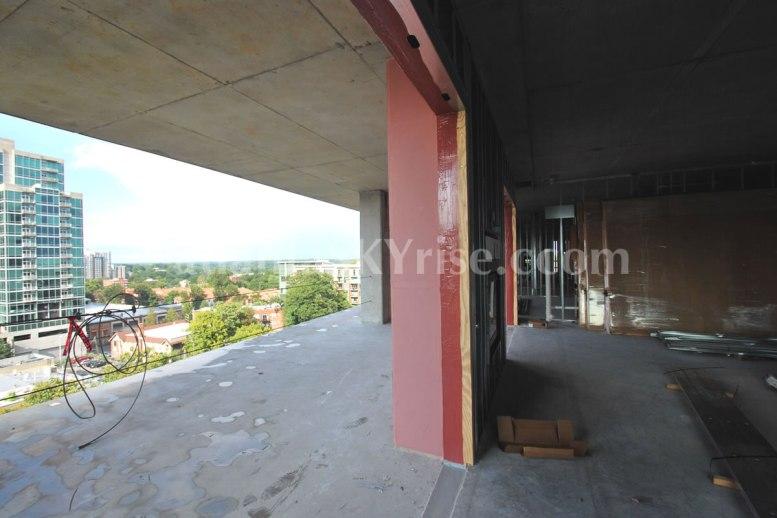 Juniper Floor Plan - Terrace view