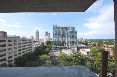 Juniper Floor Plan - Terrace view from the master bedroom.