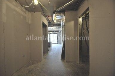 3rd Floor Wilson Floor Plan - Standing in the foyer looking into the living room.