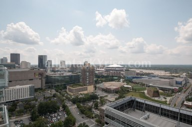 W Residences 45 Ivan Allen Penthouse 2703 City View 1