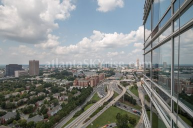 W Residences 45 Ivan Allen Penthouse 2703 City View 2