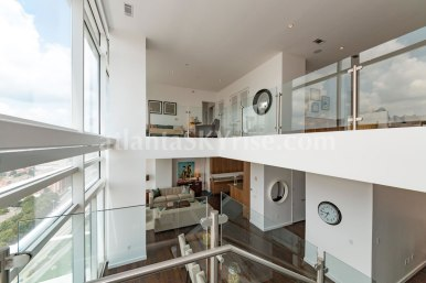 W Residences 45 Ivan Allen Penthouse 2703 Great Room 2